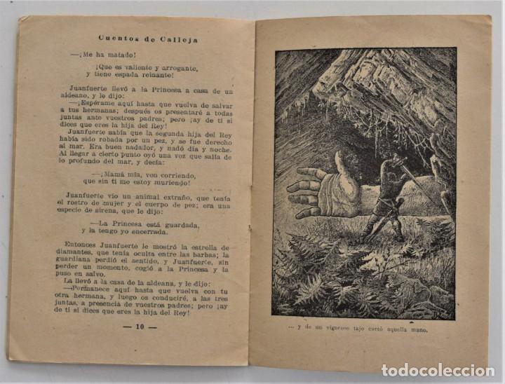 Libros antiguos: LOTE 5 CUENTOS PARA NIÑOS Nº DE EDITORIAL SATURNINO CALLEJA - Foto 7 - 202623497