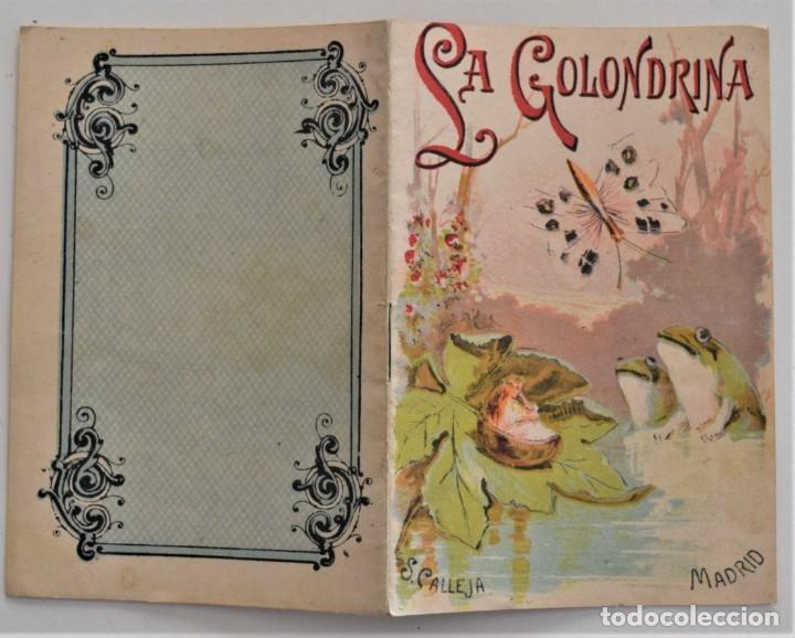Libros antiguos: LOTE 5 CUENTOS PARA NIÑOS Nº DE EDITORIAL SATURNINO CALLEJA - Foto 8 - 202623497