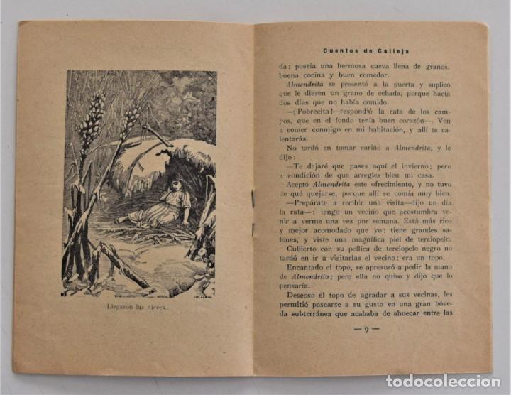 Libros antiguos: LOTE 5 CUENTOS PARA NIÑOS Nº DE EDITORIAL SATURNINO CALLEJA - Foto 9 - 202623497
