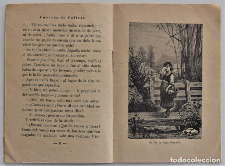 Libros antiguos: LOTE 5 CUENTOS PARA NIÑOS Nº DE EDITORIAL SATURNINO CALLEJA - Foto 11 - 202623497