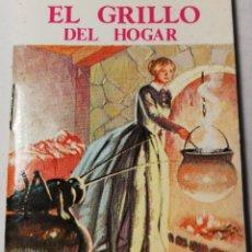 Libros antiguos: MINI CUENTO EL GRILLO DEL HOGAR . BIBLIOTECA UNIVERSAL. Lote 203168086