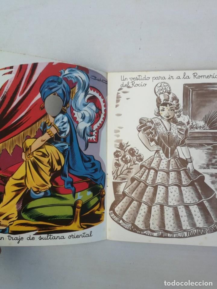 Libros antiguos: CUADERNO CON DIBUJOS DE BADIA - TE GUSTARIA UN EQUIPO DE ESQUIADORA, CHINITA, REINA, ENFERMERA, AZAF - Foto 3 - 203836210