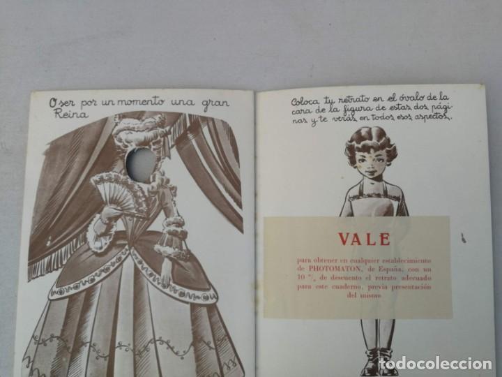 Libros antiguos: CUADERNO CON DIBUJOS DE BADIA - TE GUSTARIA UN EQUIPO DE ESQUIADORA, CHINITA, REINA, ENFERMERA, AZAF - Foto 6 - 203836210