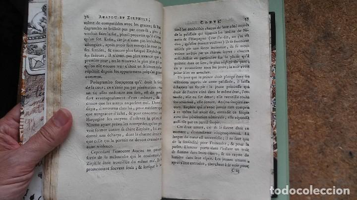 Libros antiguos: Cuentos de hadas siglo XVIII. Le cabinet des fées ou Collection choisie des contes (1786) ¡¡Bonito!! - Foto 15 - 78469961