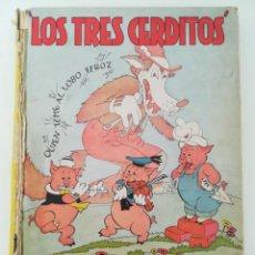 Libros antiguos: LOS TRES CERDITOS 1934. Lote 204010465