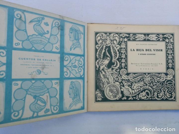 Libros antiguos: ANTIGUO Y PRECIOSO CUENTO LA HIJA DEL VISIR - CALLEJA - DESPEGADO EL LOMO - AÑOS 20 - - Foto 4 - 204319040