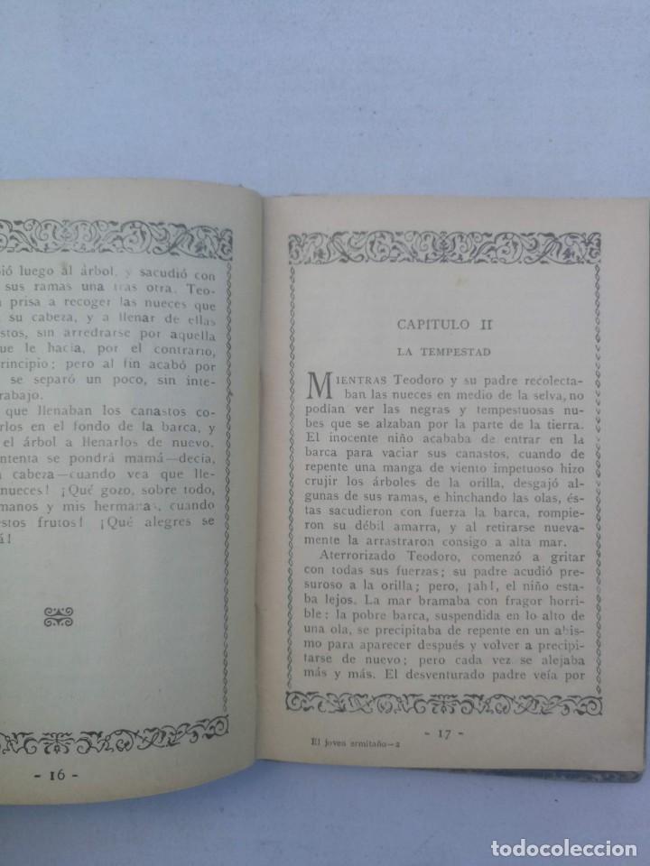 Libros antiguos: EL JOVEN ERMITAÑO - CRISTÓBAL SCHMID - SATURNINO CALLEJA - 1927 - - Foto 3 - 205035491