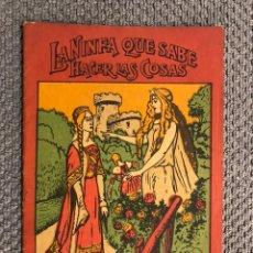Libros antiguos: CUENTO INFANTIL. LA NINFA QUE SABE HACER LAS COSAS, (H.1930?). Lote 205206130