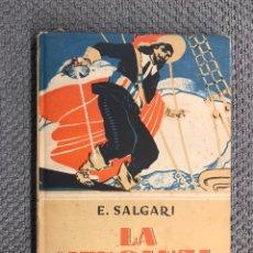 Libros antiguos: LA VENGANZA, POR EMILIO SALGARI. EDITORIAL S. CALLEJA (H.1930?). Lote 205207423