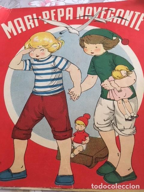 CUENTO MARI-PEPA NAVEGANTE. EMILIA COTARELO. ILUSTRA MARIA CLARET (Libros Antiguos, Raros y Curiosos - Literatura Infantil y Juvenil - Cuentos)