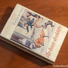 Libros antiguos: BIBLIOTECA ROSA, UN BUEN DIABLILLO, CONDESA DE SEGUR, (EDITORIAL LIBRERIA RELIGIOSA). Lote 205589025