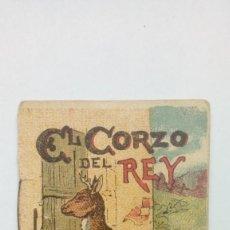 Libros antiguos: MINI CUENTO EL CORZO DEL REY CUENTOS DE CALLEJA SERIE XV. Lote 205599723