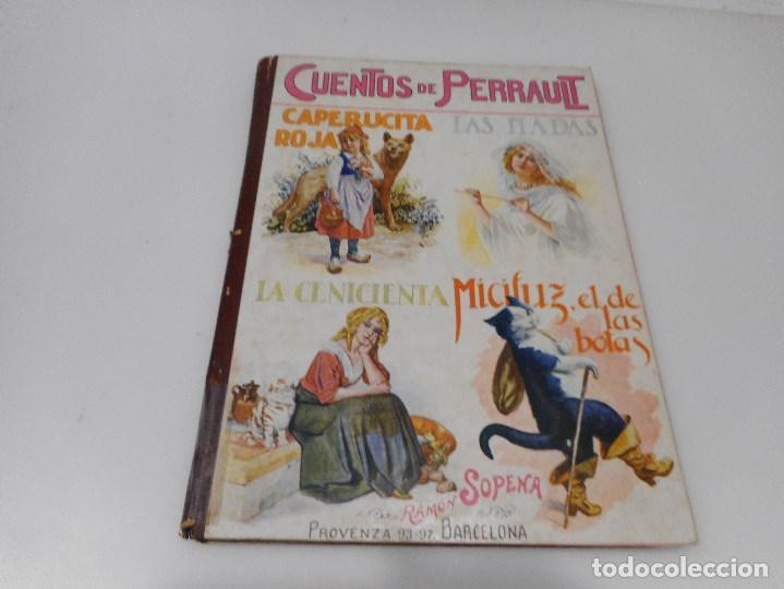 CUENTOS DE PERRAULT Q843W (Libros Antiguos, Raros y Curiosos - Literatura Infantil y Juvenil - Cuentos)