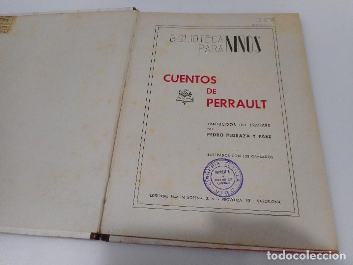 Libros antiguos: Cuentos de Perrault Q843W - Foto 2 - 207001456
