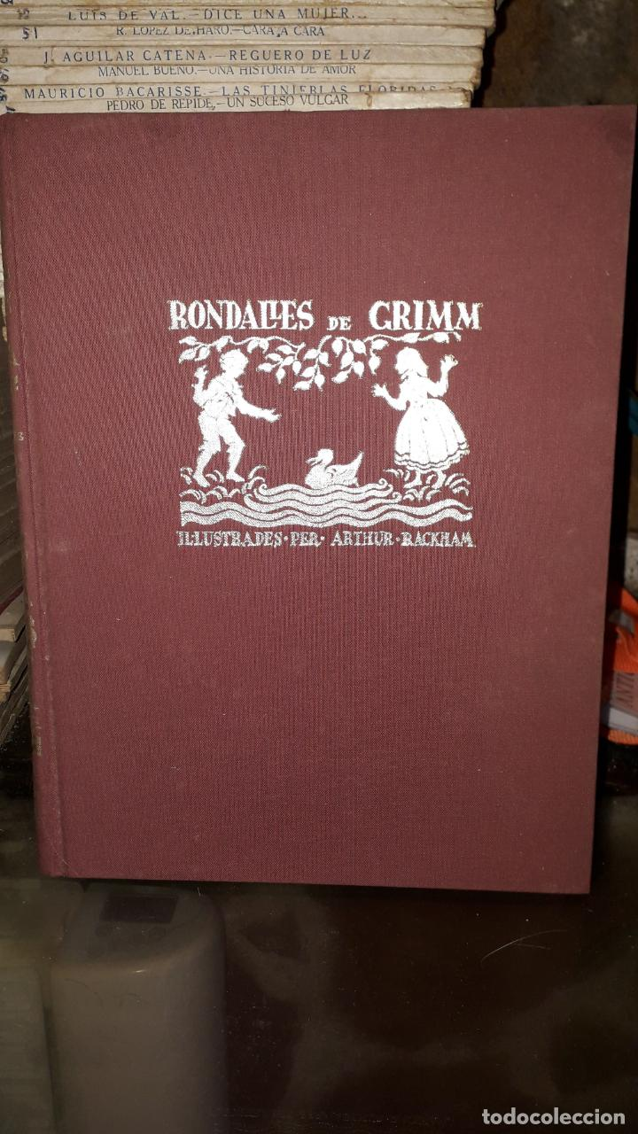 RONDALLES DE GRIMM (Libros Antiguos, Raros y Curiosos - Literatura Infantil y Juvenil - Cuentos)