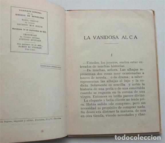 Libros antiguos: La vanidosa Alicia. Biblioteca Selecta. Ramón Sopena editor. Barcelona, 1917 - Foto 4 - 208007373