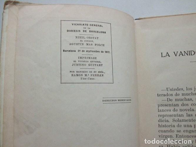 Libros antiguos: La vanidosa Alicia. Biblioteca Selecta. Ramón Sopena editor. Barcelona, 1917 - Foto 5 - 208007373