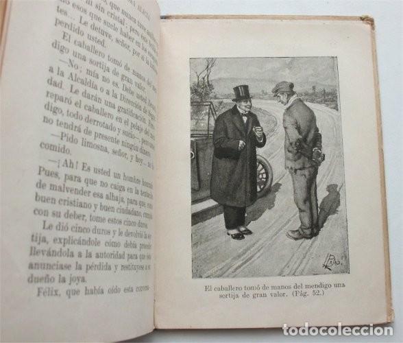 Libros antiguos: La vanidosa Alicia. Biblioteca Selecta. Ramón Sopena editor. Barcelona, 1917 - Foto 6 - 208007373