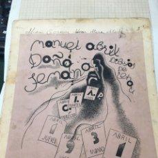 Livros antigos: MANUEL ABRIL COLECCION DE CUENTOS PARA NIÑOS - AVENTURAS ASOMBROSAS - DOÑA SEMANA. Lote 208070518