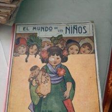 Libros antiguos: CUENTO COLECCION BIBLIOTECA PARA NIÑOS EL MUNDO DE LOS NIÑOS EDITORIAL SOPENA 1930. Lote 208216650