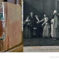 Livros antigos: AÑO 1835: AVENTURAS DE ALÍ BABÁ EN INGLATERRA. MUY RARO.. Lote 208355135