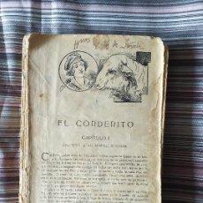 Libros antiguos: CUENTOS DE SCHMID SIN TAPAS PROPIEDAD FIRMADO HNOS. ORTIZ DE ZARATE NOCHEBUENA CORDERITO. Lote 208685653