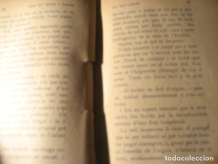 Libros antiguos: els dos camins . folch i torres . col.lecció mon tresor dedicado y firmado por el autor año 1921 - Foto 7 - 208978186
