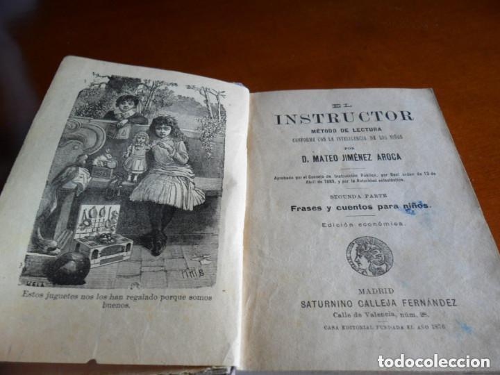 Libros antiguos: FRASES Y CUENTOS PARA NIÑOS - EDT SATURNINO CALLEJA - 1883 - Foto 6 - 209233902