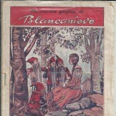 Libros antiguos: NARRACION GRÁFICA DE BLANCANIEVE - DE 32 CROMOS, COLECCION CUADERNOS ESCOGIDOS Nº 4. Lote 209724370