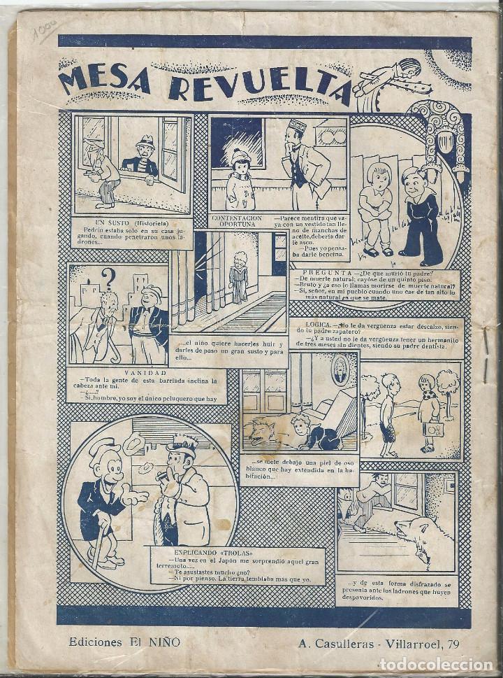 Libros antiguos: NARRACION GRÁFICA DE BLANCANIEVE - DE 32 CROMOS, COLECCION CUADERNOS ESCOGIDOS Nº 4 - Foto 2 - 209724370