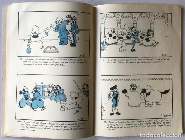 Libros antiguos: INCREIBLES AVENTURES DEL COMTE PEP I EL SEU GOS PIP. - POTIPÁN, X. - Foto 3 - 123232474