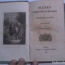 Libros antiguos: CUENTOS Y RELATOS INSTRUCTIVOS Y DIVERTIDOS JUNTO AL FUEGO. 1858. LÉON FORSTER. EN FRANCÉS.. Lote 209910223