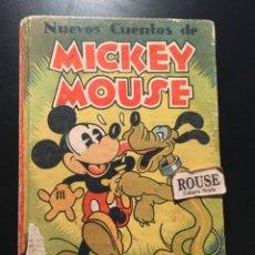 Libros antiguos: NUEVOS CUENTOS DE MICKEY MOUSE - 1935 CON ILUSTRACIONES DE WALT DISNEY ADAPTACION DEL TEXTO PARA LOS. Lote 209915126