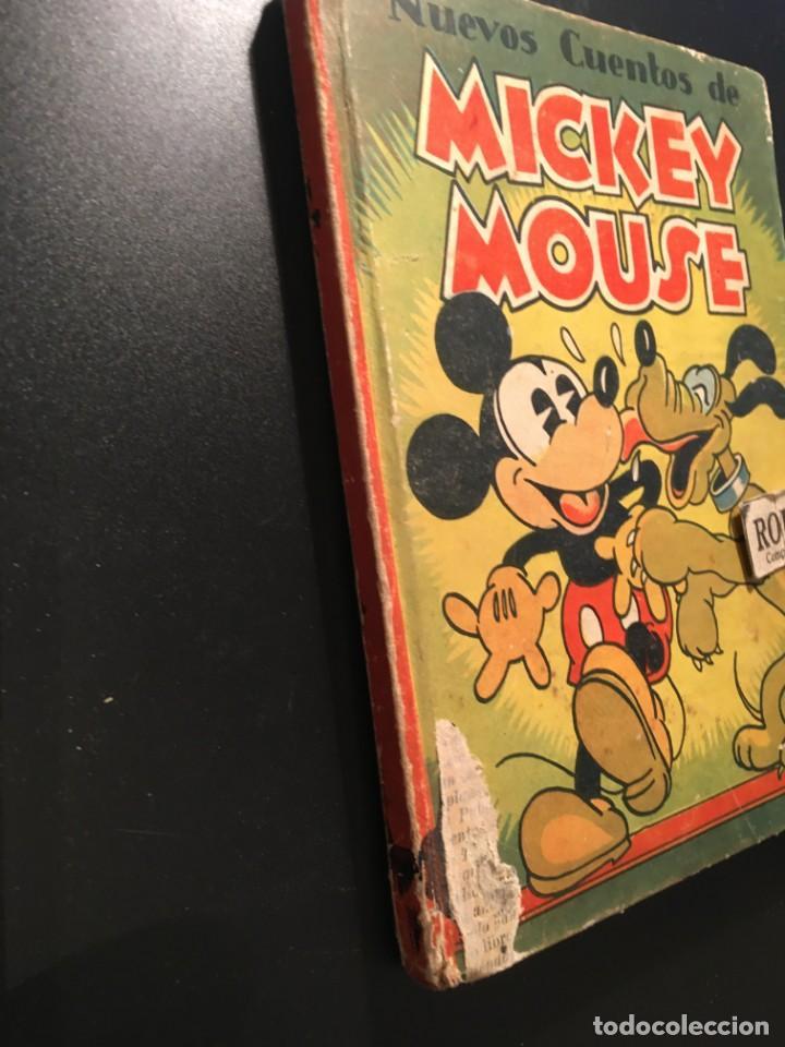 Libros antiguos: NUEVOS CUENTOS DE MICKEY MOUSE - 1935 CON ILUSTRACIONES DE WALT DISNEY adaptacion del texto para los - Foto 2 - 209915126