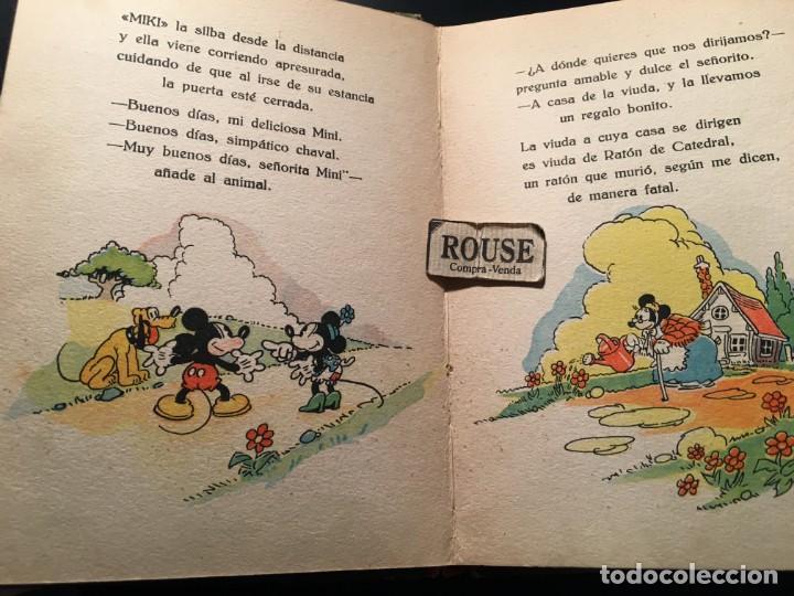 Libros antiguos: NUEVOS CUENTOS DE MICKEY MOUSE - 1935 CON ILUSTRACIONES DE WALT DISNEY adaptacion del texto para los - Foto 6 - 209915126