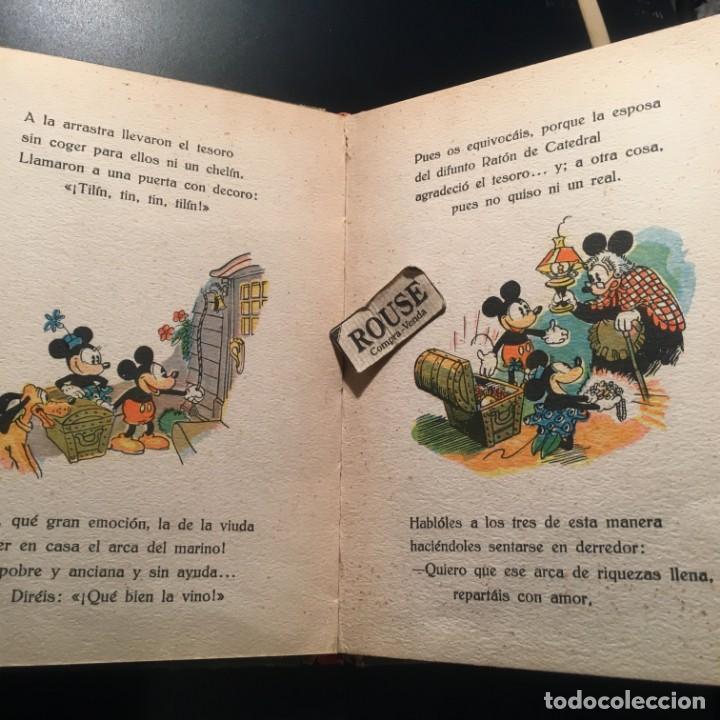 Libros antiguos: NUEVOS CUENTOS DE MICKEY MOUSE - 1935 CON ILUSTRACIONES DE WALT DISNEY adaptacion del texto para los - Foto 8 - 209915126
