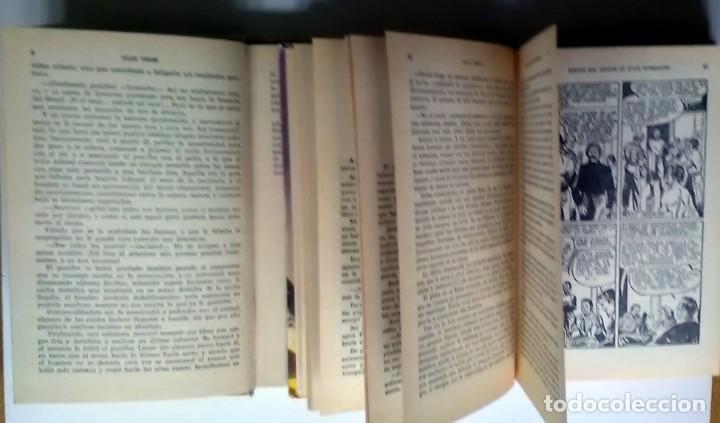 Libros antiguos: LA JANGADA/VEINTE MIL LEGUAS DE VIAJE SUBMARINO. JULIO VERNE. 1965/1966, 1ª/7ª EDICIÓN - Foto 2 - 209924220
