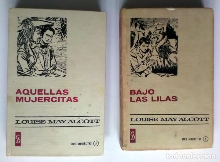 2 LIBROS SERIE MUJERCITAS. LOUISE MAY ALCOTT. 1966/7, 1ª EDICIÓN (Libros Antiguos, Raros y Curiosos - Literatura Infantil y Juvenil - Cuentos)