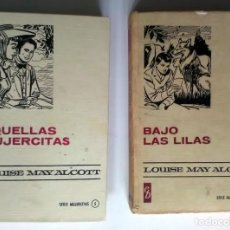 Libros antiguos: 2 LIBROS SERIE MUJERCITAS. LOUISE MAY ALCOTT. 1966/7, 1ª EDICIÓN. Lote 209925505