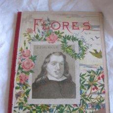 Libros antiguos: TEODORO BARO. FLORES Y FRUTAS. CUENTOS PARA NIÑOS. BIBLIOTECA IBERO-AMERICANA. IMP. ELZEVIRIANA.. Lote 210102148