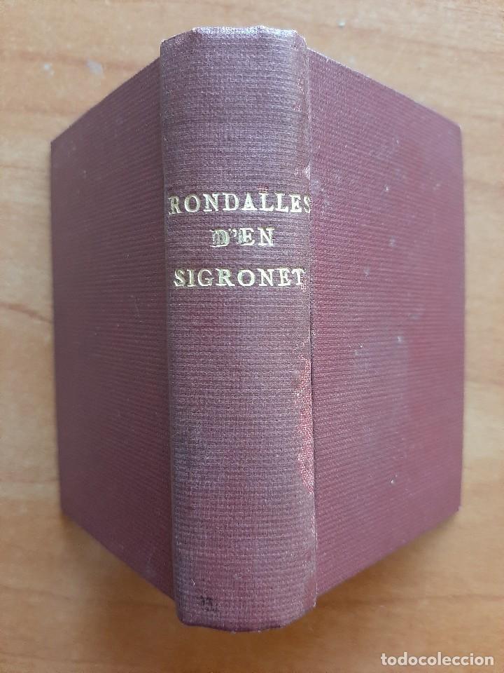 1930 ? RONDALLES D´EN SIGRONET - 30 EJEMPLARES (Libros Antiguos, Raros y Curiosos - Literatura Infantil y Juvenil - Cuentos)