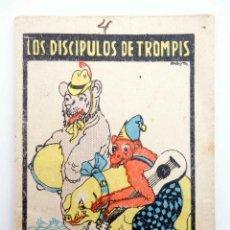 Libros antiguos: JUGUETES INSTRUCTIVOS. CUENTOS DE CALLEJA SERIE IV. Nº 69. LOS DISCÍPULOS DE TROMPIS 1933. Lote 210280365