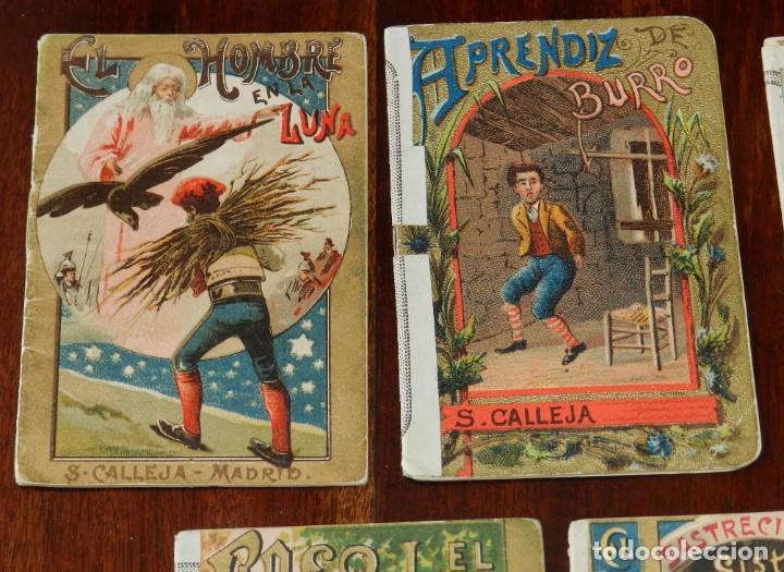 Libros antiguos: 5 CUENTOS DE CALLEJA, CUENTOS BONITOS, TOMO 193, 205, 126, 106 Y 39, TIENEN REFORZADO EL LOMO CON UN - Foto 2 - 210435527