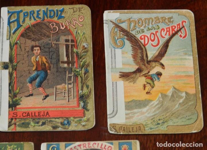 Libros antiguos: 5 CUENTOS DE CALLEJA, CUENTOS BONITOS, TOMO 193, 205, 126, 106 Y 39, TIENEN REFORZADO EL LOMO CON UN - Foto 4 - 210435527