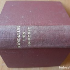 Libros antiguos: 1930 ? RONDALLES D´EN SIGRONET - 29 EJEMPLARES. Lote 210451202