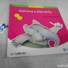 Libros antiguos: RATONA Y ELEFANTE. Lote 210481502