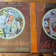 Libros antiguos: CUENTOS-DIORAMA.. Lote 212728755