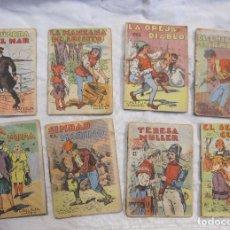 Libros antiguos: 35 MINI CUENTOS DE CALLEJA. MADRID. JUGUETES INSTRUCTIVOS. INFANTILES. 7 X 5,2 CM. ILUSTRADOS. Lote 213105121