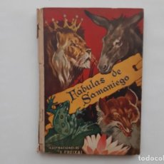 Livres anciens: LIBRO FABULAS DE SAMANIEGO ILUSTRACIONES E. FREIXAS EDI. MOLINO 1942. Lote 213511226