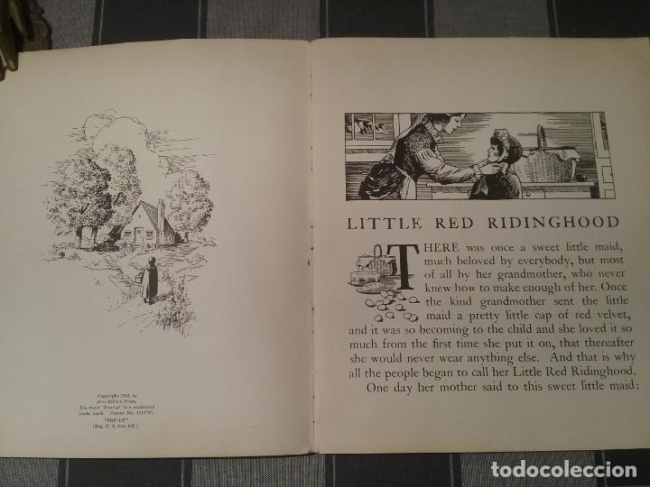 Libros antiguos: POP UP BOOK CAPERUCITA ROJA 1934 INGLES - Foto 10 - 213774498